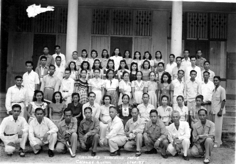 Bagong Iskul in 1948 (artmorato)
