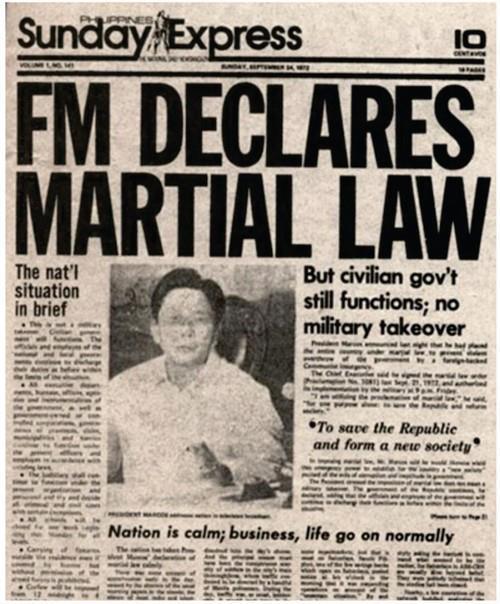 Ang Tanging Pahayagan noong Martial Law