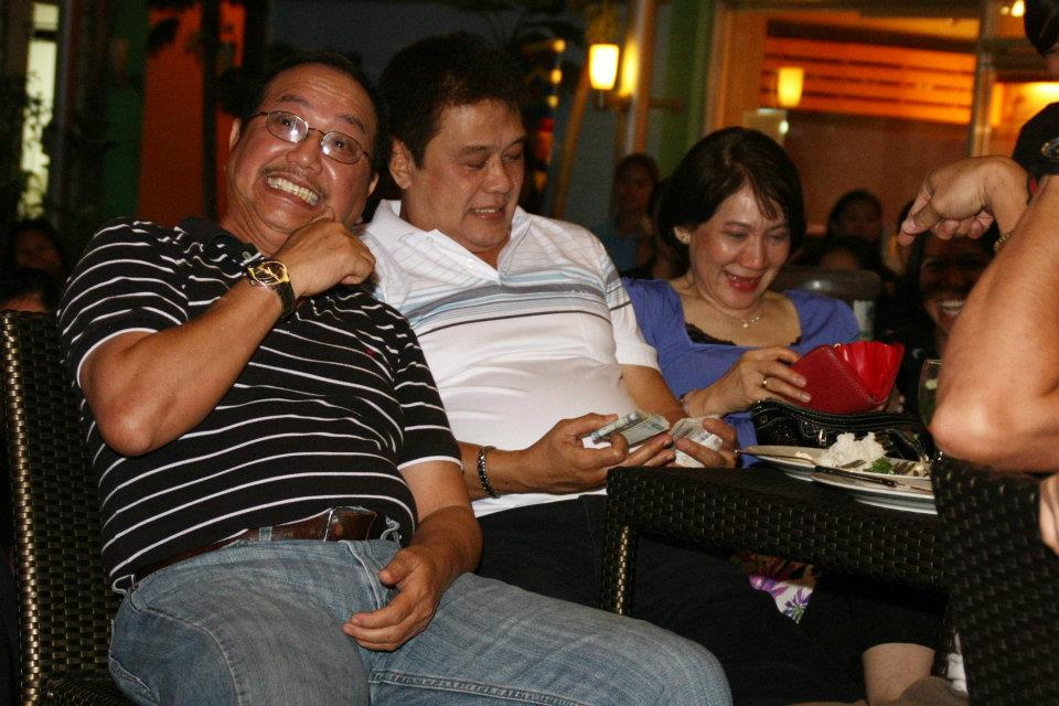 Mayor and Mayor Ramon and Barbara Ruby Talaga