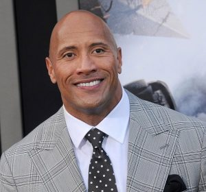 "HOLLYWOOD, CA - MAY 26: Actor Dwayne Johnson arrives at the Los Angeles premiere of ""San Andreas"" at TCL Chinese Theatre IMAX on May 26, 2015 in Hollywood, California. (Photo by Gregg DeGuire/WireImage)"